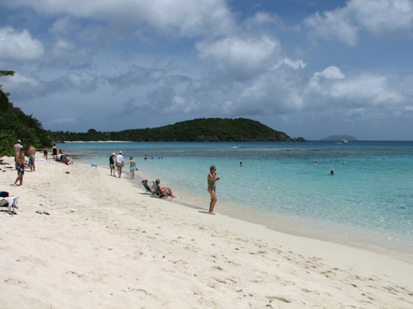 A Beautiful White Sand Beach With Great Snorkeling Too